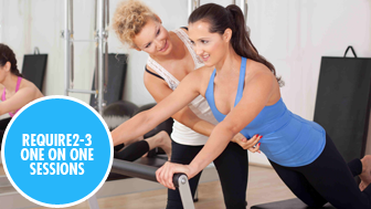 Pilates – 1 on 1 sessions
