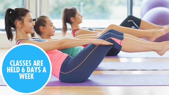 Pilates – 6 days a week classes