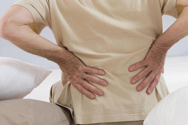 experiencing backpain