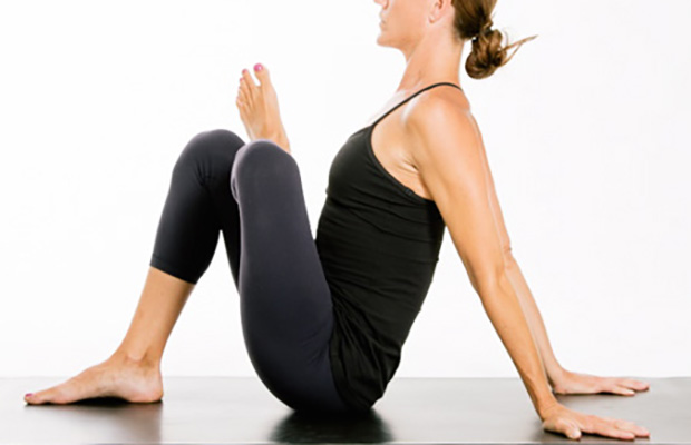 Seated Pigeon Position