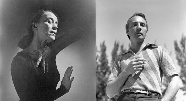 George Balanchine and Martha Graham