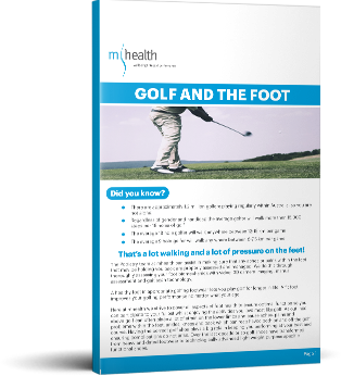 Golf and the Foot