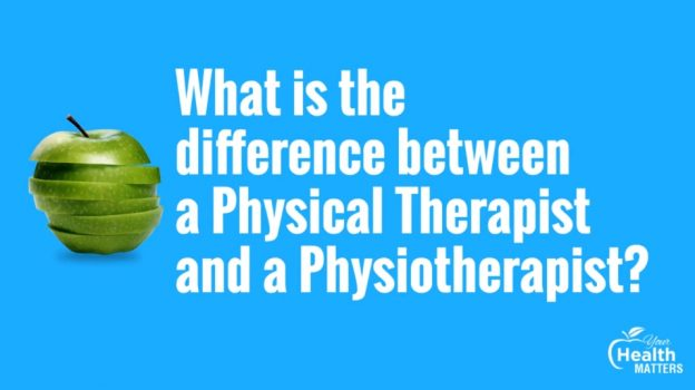 difference between physical therapist and physiotherapist