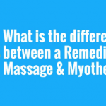 Your Health Matters – What Is the Difference Between a Remedial Massage & Myotherapy?