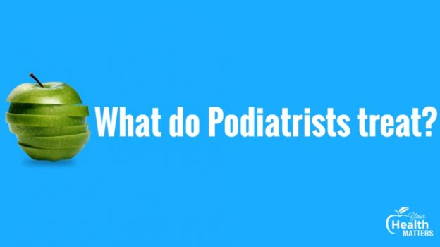 Podiatrist treatment